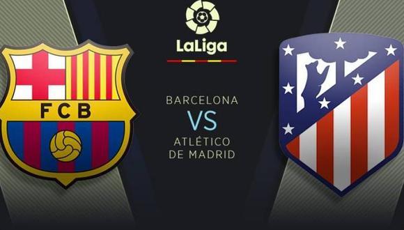 Barcelona vs. Atlético de Madrid: fecha, horarios y canales del partidazo en el Wanda Metropolitano por LaLiga