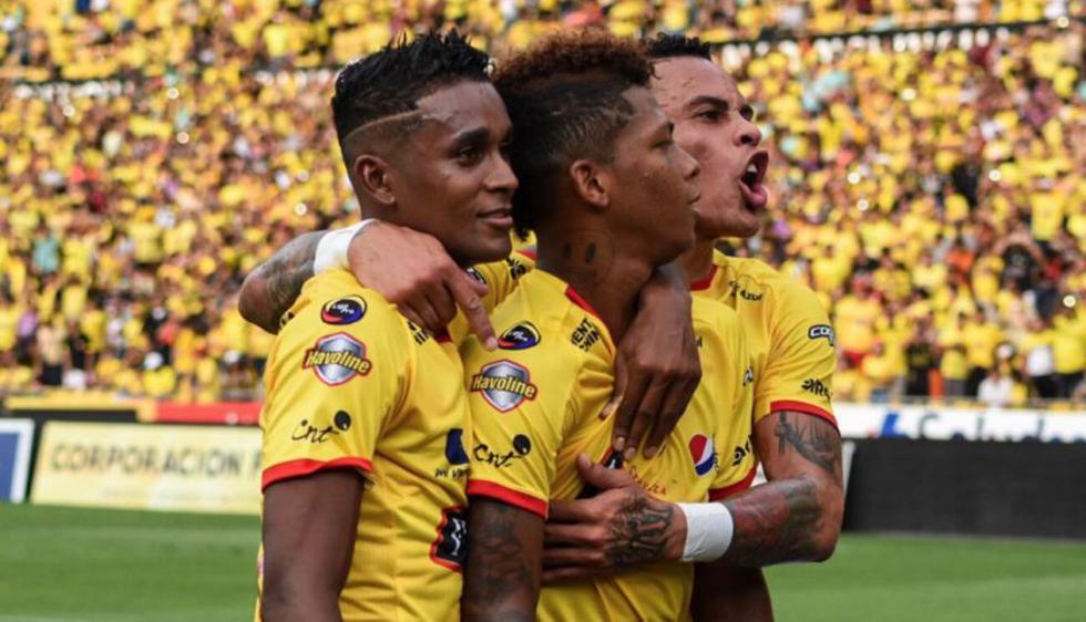 Barcelona SC venció a Aucas y aún sueña en la Liga Pro de Ecuador.