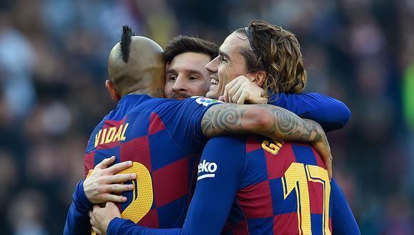 Barcelona enfrenta a Napoli en San Paolo por octavos de final de la Champions League. Messi y compañía buscarán un resultado  favorable de visitante.  (AFP)