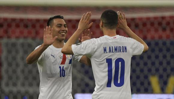 Paraguay deberá enfrentar a Uruguay en la última jornada para conocer a su rival en cuartos de final.   Foto: AFP