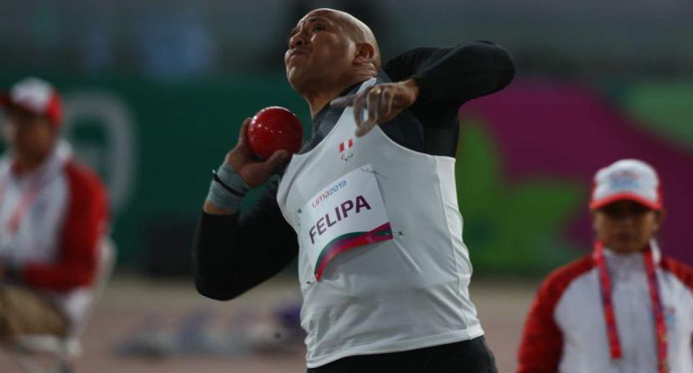 Carlos Felipa ganó una medalla de plata en lanzamiento de bala. (Foto: Alessandro Currarino/ Grupo El Comercio)