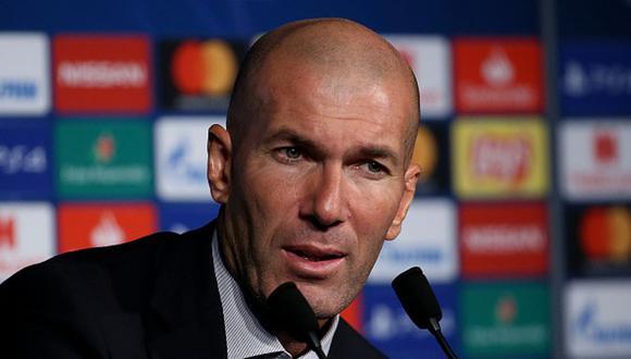 Zidane levantó tres Champions League con el Real Madrid. (Getty)
