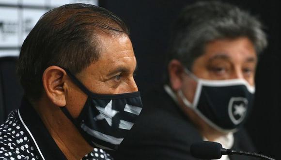 Ramón Díaz también fue entrenador de River Plate. (Foto: @Botafogo)