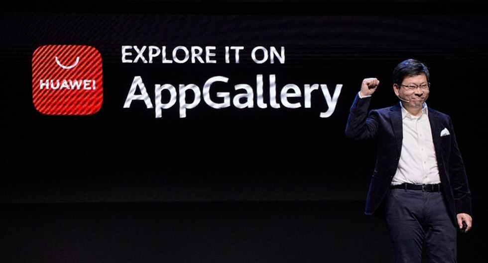 Huawei presentó su tienda virtual App Gallery (Difusión)