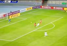 Juan Ramírez abrió el marcador del duelo entre Sport Huancayo y Liverpool de Uruguay [VIDEO]