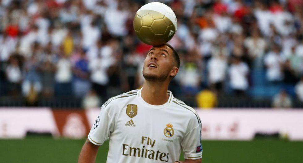 Eden Hazard llegó al Real Madrid esta temporada por casi 100 millones de euros. (Foto: Reuters)