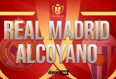Real Madrid vs. Alcoyano EN VIVO: transmisión por DIRECTV y Movistar por Copa del Rey