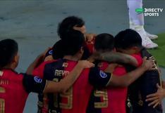 Tras una asistencia de taco de Cuesta: Bordacahar puso el 1-0 en el Melgar vs. Atlhetico Paranaense [VIDEO]