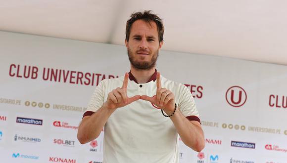 Gregorio Pérez habló sobre Hernán Novicky su incorporación a Universitario de Deportes. (Foto: @Universitario)