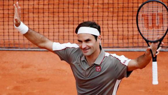 Roger Federer confirmó su presencia en el Masters 1000 de Madrid. (ATP/Agencias)