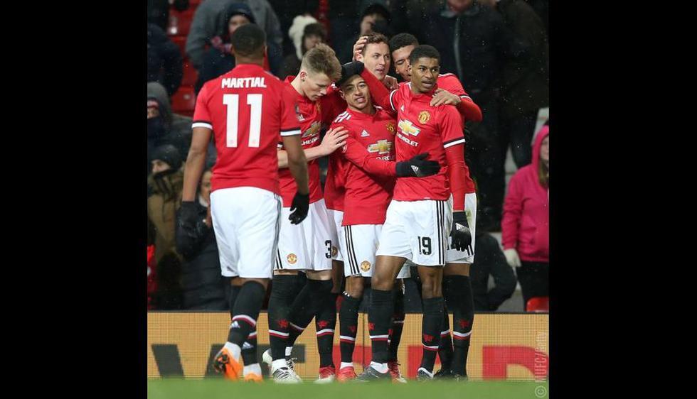 Manchester United se metió entre los cuatro mejores equipos de la FA Cup. (Getty Images / Prensa: Manchester United)