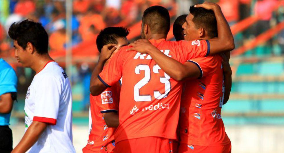 César Vallejo goleó 4-0 a Unión Huaral.