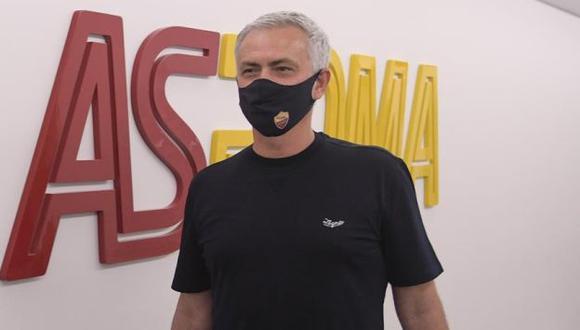 José Mourinho firmó contrato con AS Roma hasta mediados del 2024. (Foto: AS Roma)
