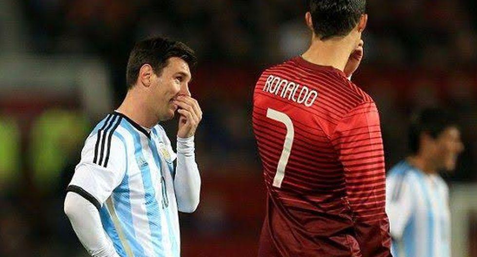 Lionel Messi y Cristiano también se han enfrentado a nivel de selecciones. (Foto: Getty)
