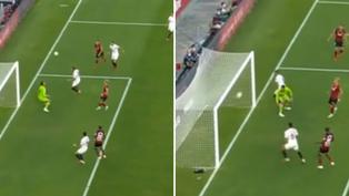 Giorgi Mamardashvili comete tremendo 'blooper' en el fútbol de España