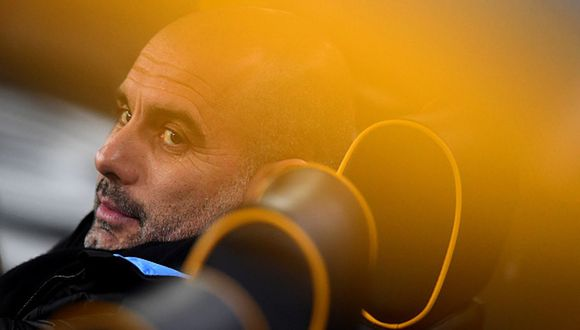 Josep Guardiola llegó al Manchester City en 2016. (Getty)