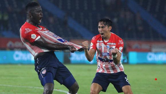 Junior goleó por 3-0 a Atlético Huila por el partido pendiente de la jornada 8 de Liga BetPlay. (Foto: Junior)