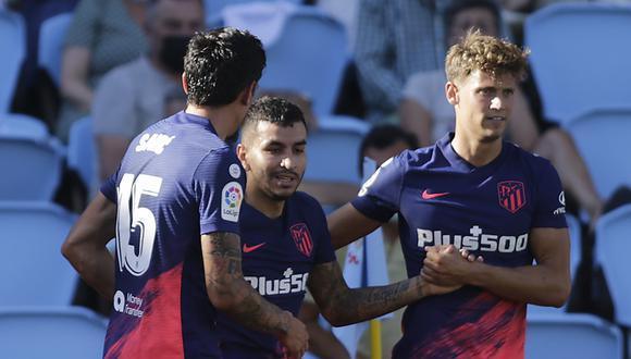 Atlético de Madrid venció a Celta de Vigo con dos goles del argentino Correa. (EFE)