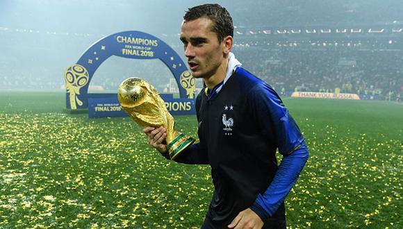 Antoine Griezmann fue nombrado mejor jugador del partido en la final entre Francia y Croacia por el Mundial Rusia 2018. (Getty)