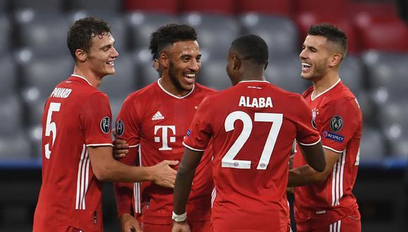 Bayern goleó 4-0 a Atlético Madrid en la primera fecha de la Champions League por el grupo A. (Foto: AFP)
