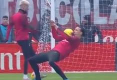 Lo que hizo parece magia: Zlatan es viral por truco con pelota en calentamiento del AC Milan [VIDEO]