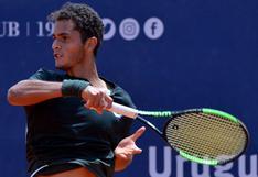 Con la frente en alto: Juan Pablo Varillas cayó por 2-0 ante Garin y quedó eliminado ATP de Santiago