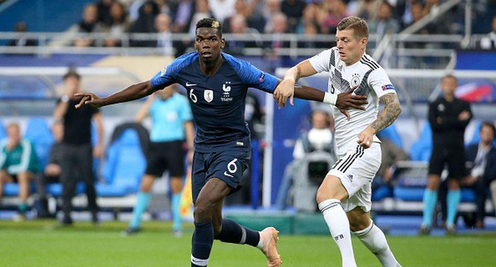 Pogba jugó en la Juventus antes de volver a Real Madrid en 2016. (Getty)