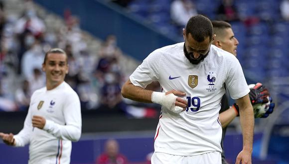 Karim Benzema se perderá sesiones de entrenamientos con Francia. (Foto: AP)