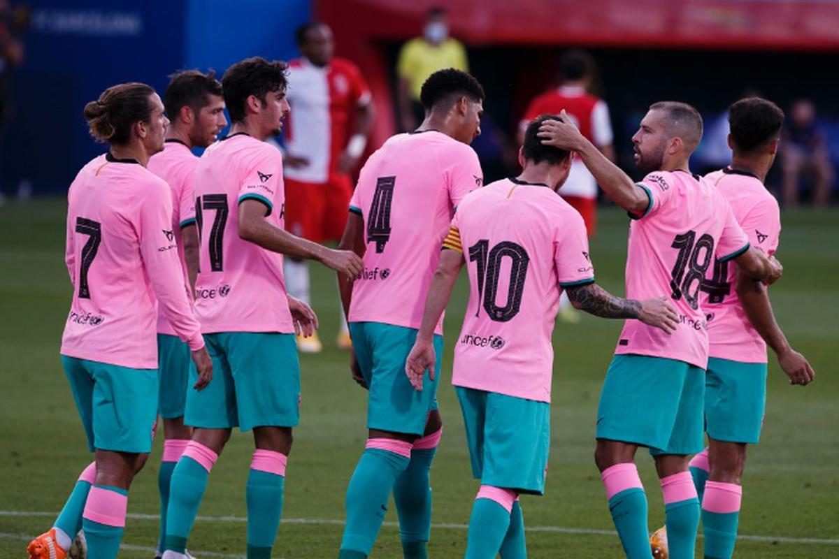 Barcelona Vs Girona Ver Goles Resumen Estadisticas Y Mejores Jugadas Del Partido Amistoso Con Miras A Laliga Santander Goles Lionel Messi Futbol Internacional Depor