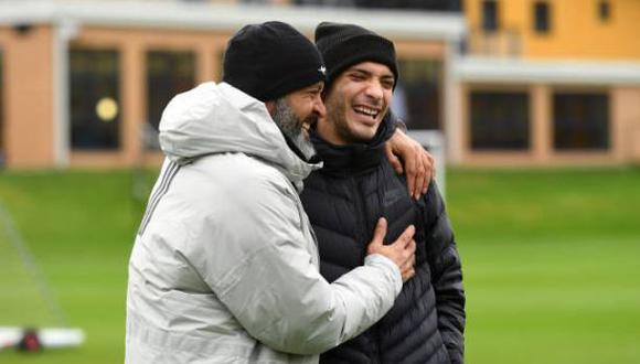 Raúl Jiménez espera para regresar a la acción con la camiseta de Wolverhampton. (Foto: Getty Images)