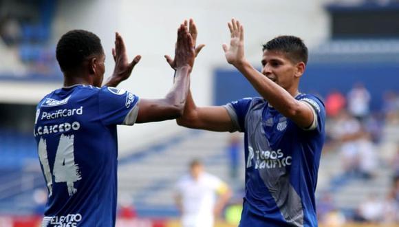 Emelec goleó en el global 5-0 a Blooming y avanzó a la Fase 2 de Copa Sudamericana 2020.