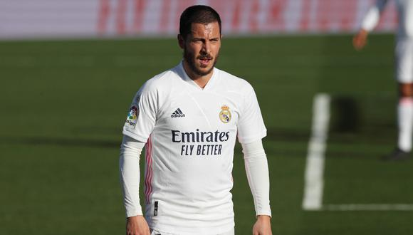 Real Madrid pagó más de 100 millones de euros por Eden Hazard. (Foto: EFE)