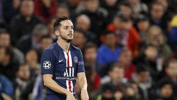 Pablo Sarabia marcó el tanto del empate con PSG sobre los 83 minutos. (Getty Images)