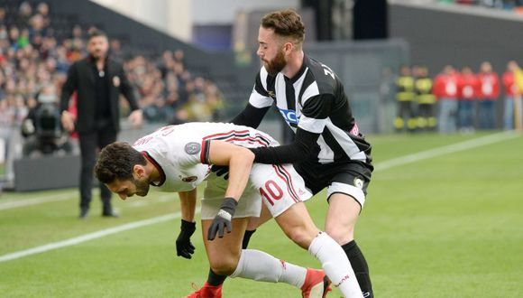 AC Milan se dejó empatar por Udinese en Serie A (Foto: Getty Images).