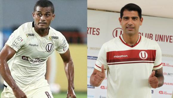 Nelinho Quina y Enzo Gutiérrez estaría presentes para el choque ante Defensa y Justicia. (Foto: Universitario de Deportes)