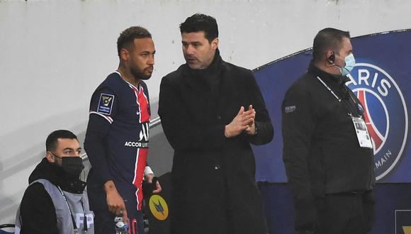 PSG de Pochettino, Neymar, Mbappé y compañía enfrentan este miércoles al City por las semifinales de la Champions. (Foto: AFP)