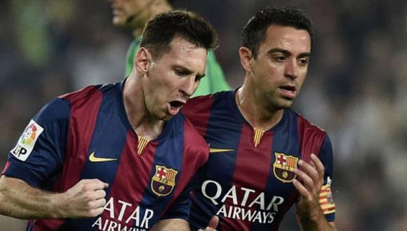Xavi Hernández y Lionel Messi formaron parte de la época más gloriosa en la historia del Barcelona.