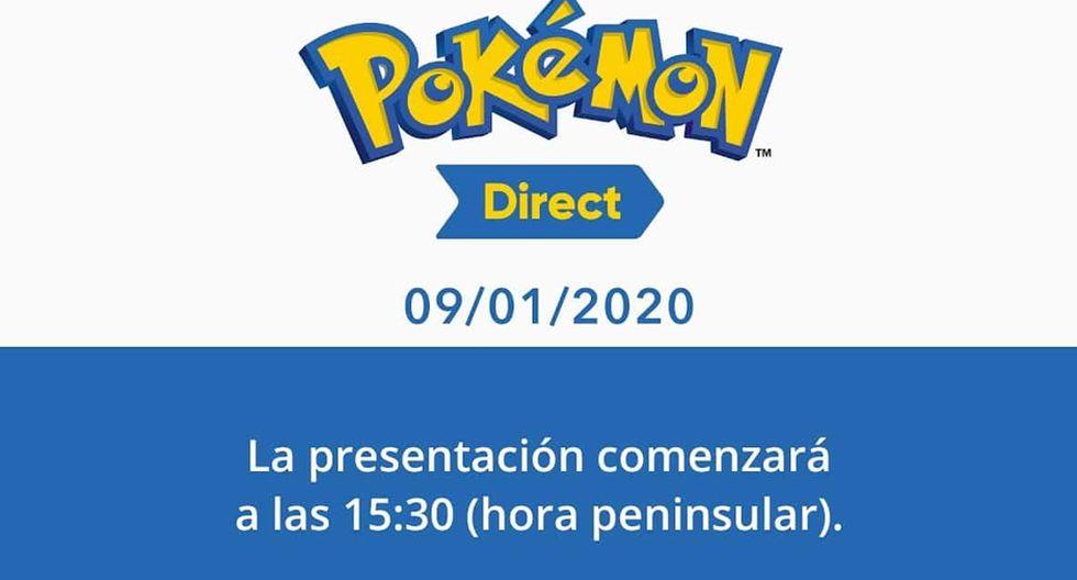 Pokémon contará con un 'Direct' el 9 de enero. (Foto: The Pokémon Company)