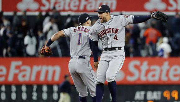 Houston Astros ganaron el Juego 3 contra los New York Yankees. (Getty Images)