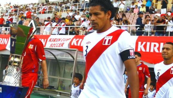 Santiago Acasiete se refirió al duelo que tendrá Perú vs. Argentina. (Foto: GEC)