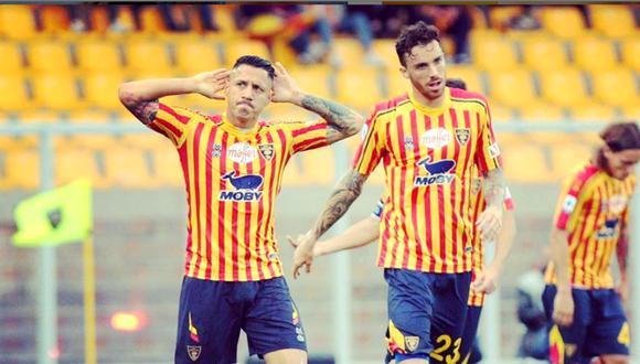 Gianluca Lapadula lleva marcados dos goles con el Benevento. (Foto: Agencias)