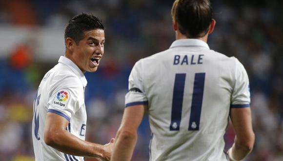 James acaba contrato en el 2021, mientras que Bale, en el 2022. (Foto: EFE)