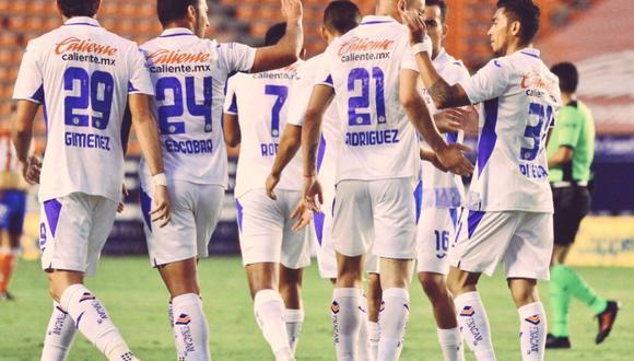Cruz Azul venció a Atlético San Luis y escaló a la cima del Apertura 2020 Liga MX.