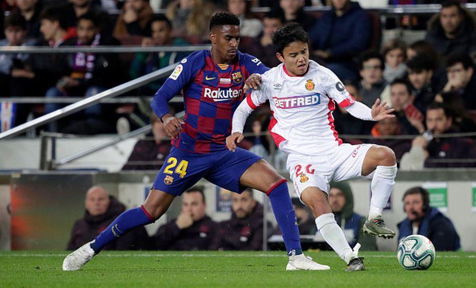 Take Kubo jugó los 90 minutos ante Barcelona. (Getty)
