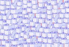 Reto viral: encuentra las 3 curitas entre los rollos de papel higiénico en la imagen