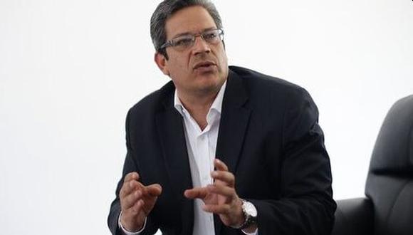 Gustavo San Martín se refirió a la reactivación de los deportes en el país. (Foto: GEC)
