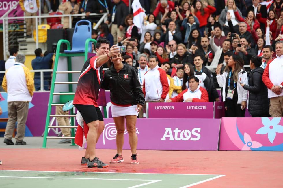 Claudia Suárez y Kevin Martínez Plaeta Frontón en Lima 2019. (Fotos: Giancarlo Avila - GEC)