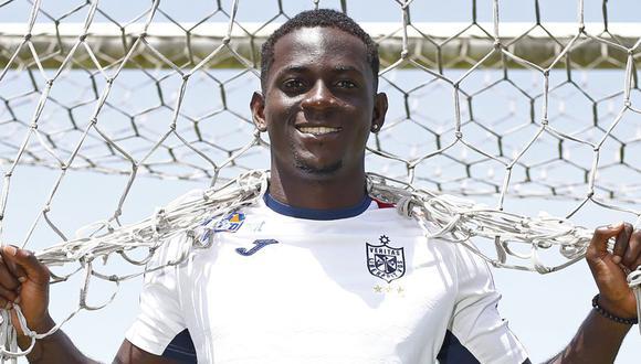 Aké Loba jugó en San Martín en 2018 (Foto: GEC)