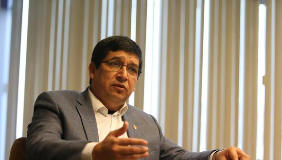 Óscar Chiri se pronunció sobre el tema de la vacunación a la selección peruana. (Foto: GEC)