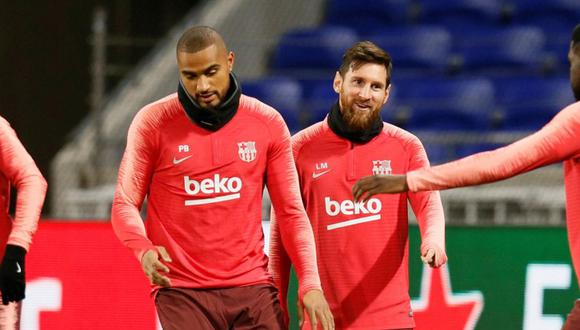 Kevin-Prince Boateng jugó media temporada en el Barcelona. (Internet)